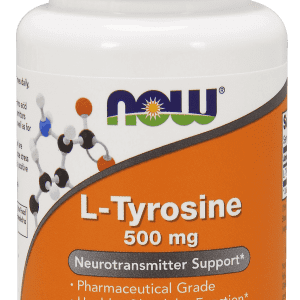now foods l tyrosine 500mg 60 capsules