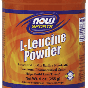 now foods l-leucine powder 9 oz