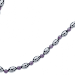 Amethyst Globe Magnetic Necklace, Serenity2000