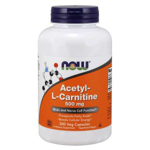 ACETYL-L CARNITINE 500 MG – 200 CAPSULES