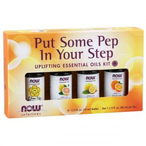 Put Some Pep in Your Step Essential Oils Kit