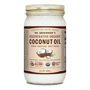 Dr Bronners Coconut Oil 14 oz