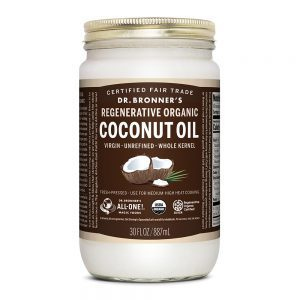 Dr Bronners Coconut Oil 30 oz