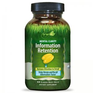 information retention irwin naturals