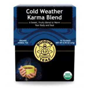cold weather karma tea