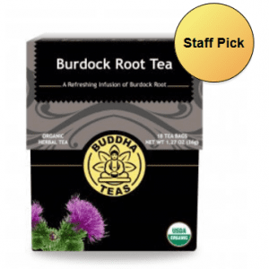organic burdock tea