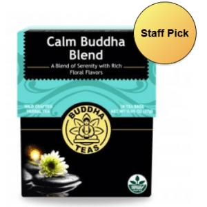 organic calm buddha tea