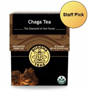 organic chaga mushroom tea