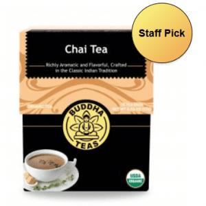 organic chai buddha tea
