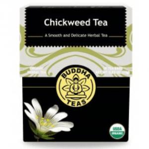 Organic Chickweed tea