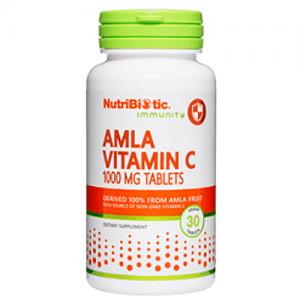 Amla Vitamin C 1000 mg Tablets, 30 tabs.