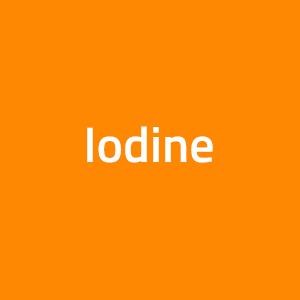 Iodine Supplements/ Iodide Supplements