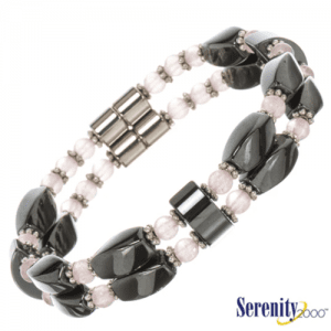 Serenity2000 - Hematite Quartz Bracelet