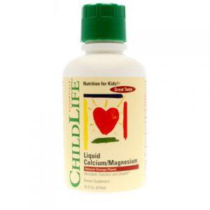Liquid Calcium with Magnesium Natural Orange Flavor