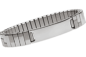 """Stainless Steel Magnetic Expansion Band 8"""", Serenity2000"""