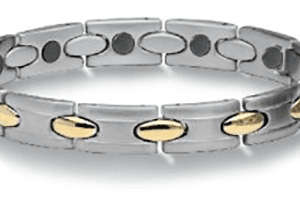 "Stainless Steel Magnetic Bracelet Athena 7.5"", Serenity2000"