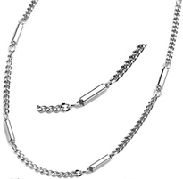 Magnetic Chain Necklace Stainless Steel, Serenity2000
