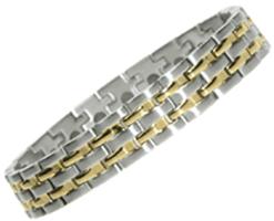 "Stainless Steel Magnetic Bracelet Troy 8"", Serenity2000"