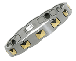 Tungsten Carbide Magnetic Bracelet - Oreon, Serenity2000