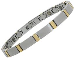 Tungsten Carbide Magnetic Bracelet - Columba, Serenity2000