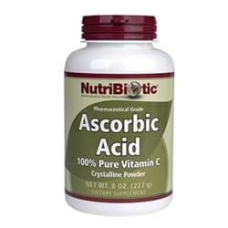 Ascorbic Acid Powder with Bioflavonoids, Vegan - 8 oz