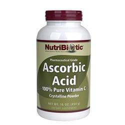 Ascorbic Acid Powder with Bioflavonoids, Vegan