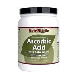 Ascorbic Acid Powder with Bioflavonoids, Vegan - 2.2 lb