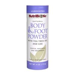 Body and Foot Powder - 4 oz, Vegan