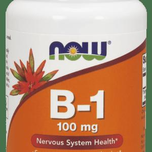NOW Foods Vitamin B-1 (Thiamin) 100 mg Tablets