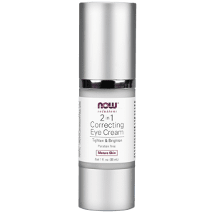 2 in 1 Correcting Eye Cream - 1 fl. oz., NOW Foods
