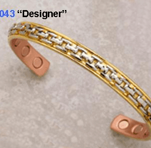 Designer Copper Magnetic Bracelet