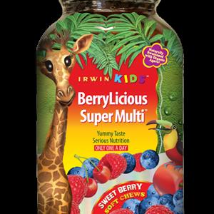 Irwin Kids BerryLicious Multi Vitamin