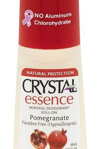 crystal pomegranate roll on deodorant