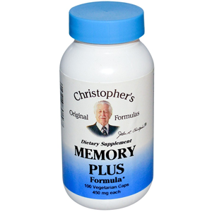 dr christophers memory plus 100 capsules