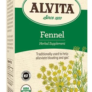 Fennel Seed Tea Bags, Caffeine Free, 24 Tea Bags, 2.12 oz (60 g), Alvita Teas
