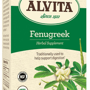 Fenugreek Seed Tea, 30 Tea Bags, 3 oz (85 g), Alvita Teas