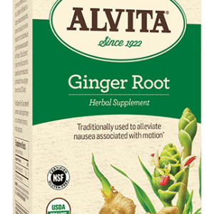Ginger Root Tea Bags, Caffeine Free, 24 Tea Bags, 2.12 oz (60 g), Alvita Teas