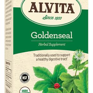 Golden Seal Herb Tea Bags, Caffeine Free, 30 Tea Bags, 1.25 oz (35.44 g), Alvita Teas