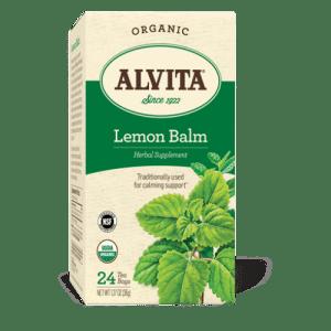 Organic Lemon Balm Tea, 24 bags, Alvita Teas