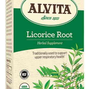 Licorice Root Tea Bags, Caffeine Free, 30 Tea Bags, 1.625 oz (46 g), Alvita Teas