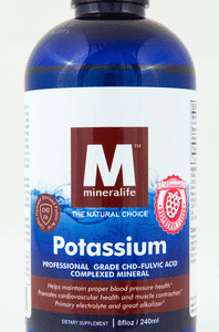 mineralife potassium raspberry flavor
