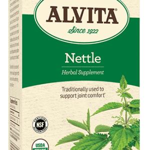 Nettle Leaf Tea Bags, Caffeine Free, 24 Tea Bags, 1.44 oz (41 g), Alvita Teas