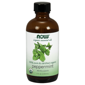 organic peppermint oil 4oz NOW Foods