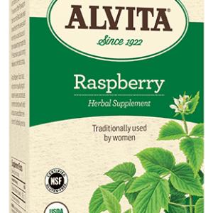 Organic Raspberry Tea, 24 bags, Alvita Teas