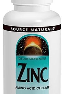 source naturals zinc 100 tabs