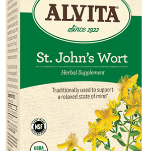 St. John's Wort Tea Bags, Caffeine Free, 24 Tea Bags, Alvita Teas