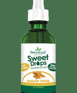 sweetdrop stevia english toffee