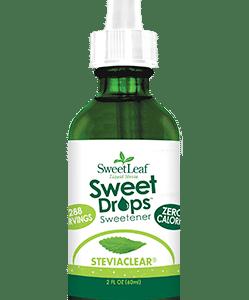 unflavored stevia drops