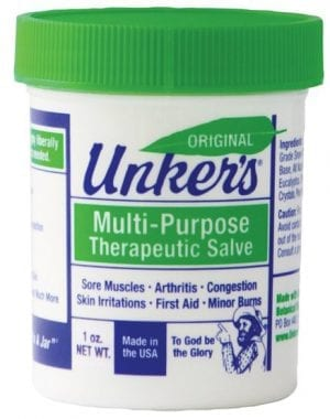 1 oz unkers medicated salve