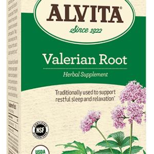 Valerian Root Tea Bags, Caffeine Free, 24 Tea Bags, 2.37 oz (67 g), Alvita Teas